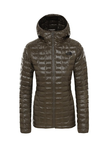 The North Face Kadın Mont Eco Thermoball Hoodie Nf0A3Ygn21L1 Yeşil